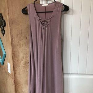 Lavender Sleeveless Dress